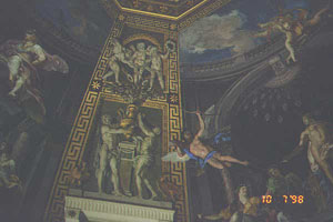 ceiling vatican photo