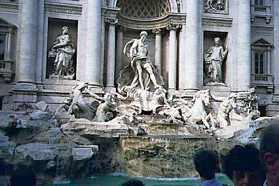 Trevia Fountain Photo