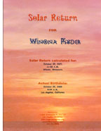 solar return cover
